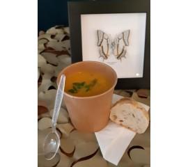 Soupe de carottes, curcuma,...