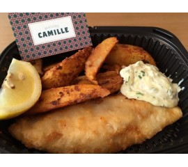 Fish and Chips de Cabillaud